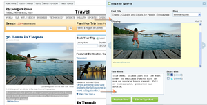 Blog It Bookmarklet