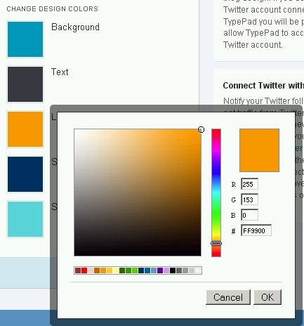 TweetPad Colors