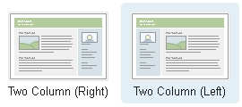 Two Column Classic Layouts